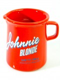 Johnnie Walker Blonde Whisky, Keramik Pitcher, Wasserkaraffe 300ml rote Ausführung
