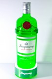 Tanqueray Gin, Acryl 3 Liter Flasche mit Akku LED Flaschenleuchte, Leuchtreklame