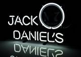Jack Daniels Whisky, LED Neon Leuchtreklame, Leuchtwerbung No.7 Einfarbig
