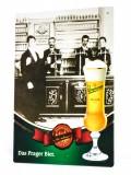 Staropramen Bier, Postkarten Werbe Sammel Blechschild Nostalgie Motiv 2007