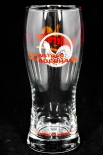 Hasseröder Glas / Gläser, Bierglas / Biergläser - Kein Anstoss ohne Auerhahn 0,3l