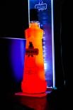Puschkin Vodka / Wodka LED Flaschen Leuchtreklame, Neonleuchte, Leuchtwerbung