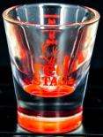 Jim Beam Red Stag Glas / Gläser, Shotglas, Stamper, 2cl/4cl