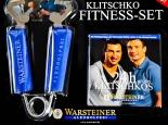 Warsteiner Bier Flaschenöffner als Kraftpresse Klitschko Fitness-Set