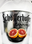 Schöfferhofer Weizenbier Grapefruit Eiswürfeleimer / Flaschenkühler verzinkt