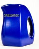 Pernod Pitcher, Karaffe, Wasserkrug, Krug in blau ca.0,4l, gelbes Label