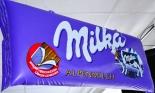 Milka Schokolade Mini Luftmatratze in Tafelform, 85 x 30cm