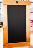 Pampero Rum Kreidetafel, Tafel in Echtholzrahmen, sehr edel, 100 x 60cm