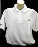 Corona Extra, Polo Shirt, Lacoste, weiß, Gr.5 mit Logo OVP