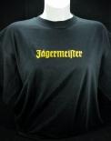 Jägermeister T-Shirt Men, Gastro, Rund-Ausschnitt, schwarz/orange, Gr.L