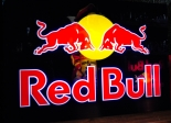 Red Bull Energy LED Leuchtreklame, Leuchtwerbung sehr groß
