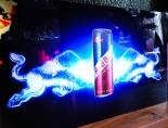 Red Bull Energy / Cola LED Leuchtreklame, Leuchtwerbung, sehr groß
