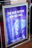 Red Bull Energy Leuchtreklame, Leuchtwerbung, Silver-Blue Edition 3D LED