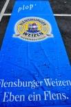 Flensburger Pilsener Weizen Banner, Fahne, Flagge Vertika 407 x 150cm