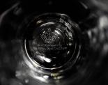 CARLSBERG BIER GLAS / GLÄSER, BIERGLAS RELIEFGLAS TULPE 0,3l