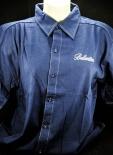 Ballantines Hemd dunkelblau Gr.M mit Logo OVP NEU