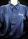 Ballantines Hemd dunkelblau Gr.XL mit Logo OVP NEU