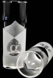 Alpha Noble Vodka Glas / Gläser Wodka Shotglas, Stamper 2cl/4cl