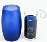 Flensburger Pilsener Windlicht / Teelicht blau