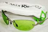Bacardi Rum Sonnenbrille Rigo metall, grün UV 400